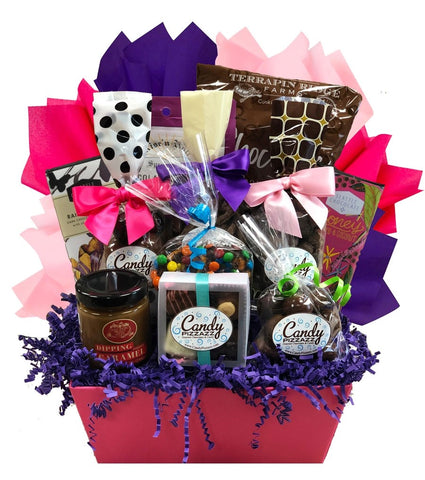 For the Love of Chocolate - Basket Pizzazz