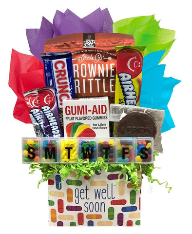 Get Well Soon - Basket Pizzazz