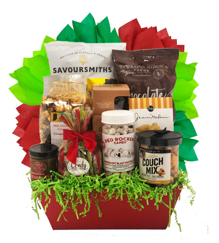 Holiday Snacks - Basket Pizzazz