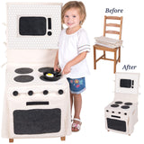 Pop-Oh-Ver Deluxe Chair Cover Stove Set - Basket Pizzazz