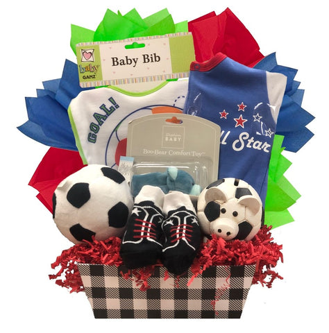 Soccer Baby - Basket Pizzazz