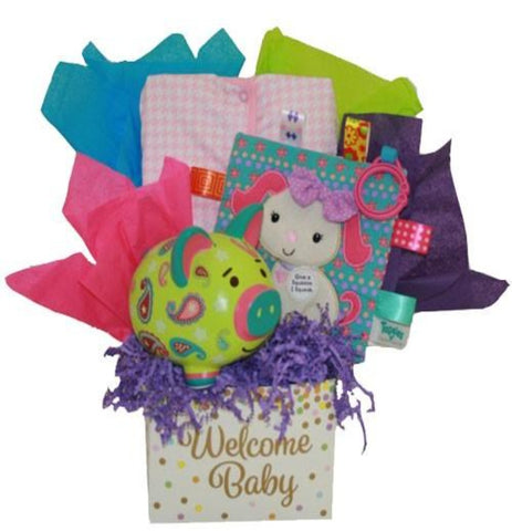Sweet Baby Girl - Basket Pizzazz