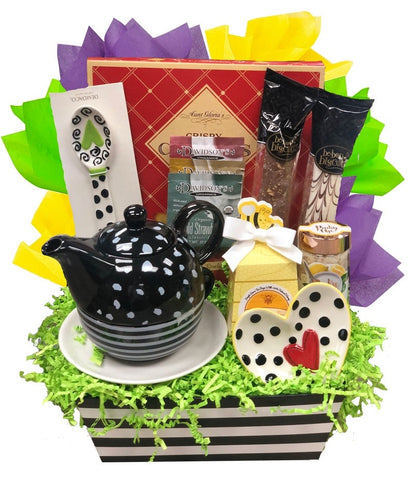Tea Time - Basket Pizzazz