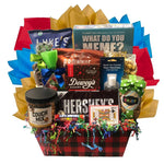 """The Virus"" Family Survival Kit - Basket Pizzazz"