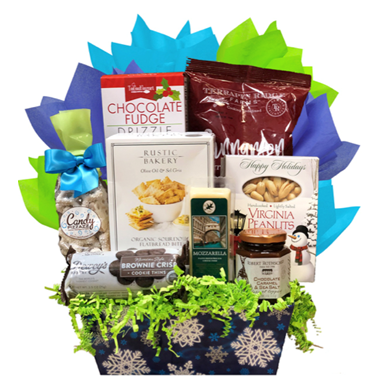 Winter Wishes - Basket Pizzazz