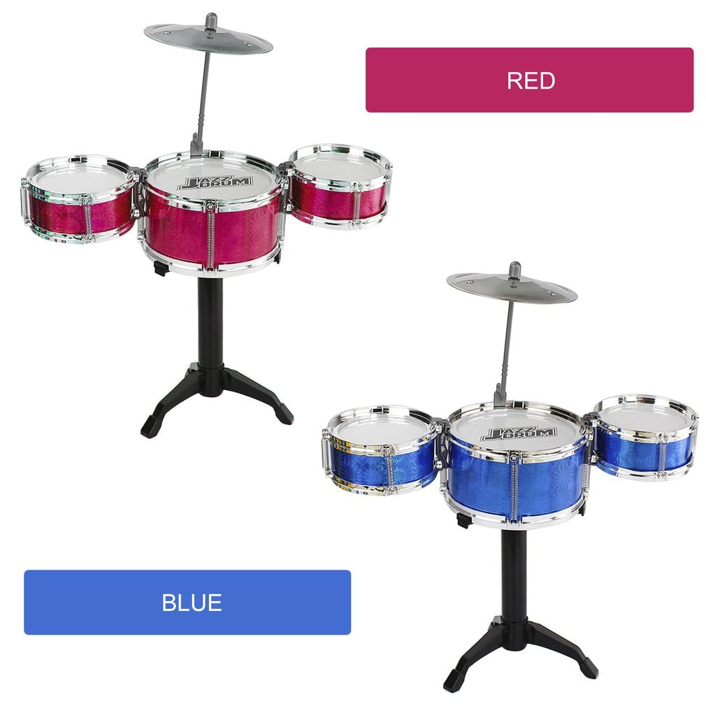 3-Piece Kids Drum Set