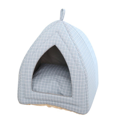 Foldable Pet Cat Bed