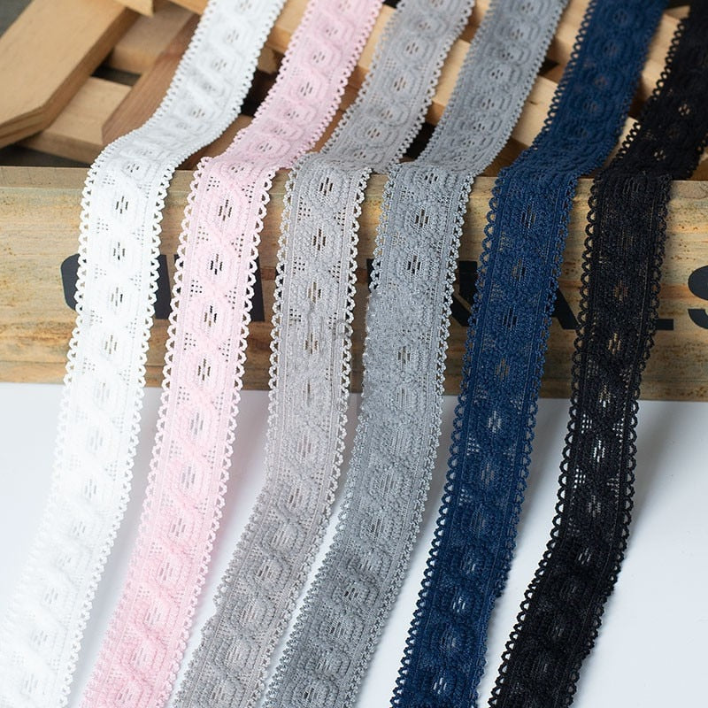 1 Yard Stretch Elastic Lace Ribbon