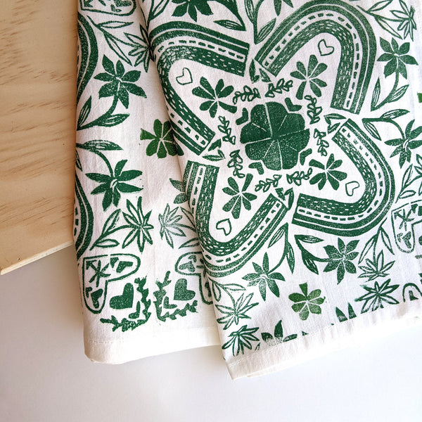 Clover Tea Towel