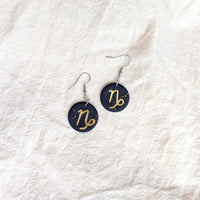 Capricorn Earrings