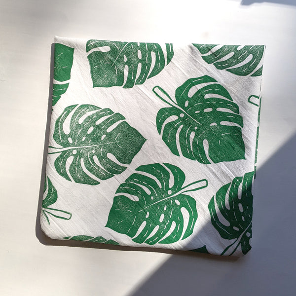 Monstera Tea Towel