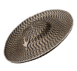 Chevron Straw 'Gaucho' Hat