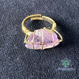 Irregular Shape Ring Gold Color Wire