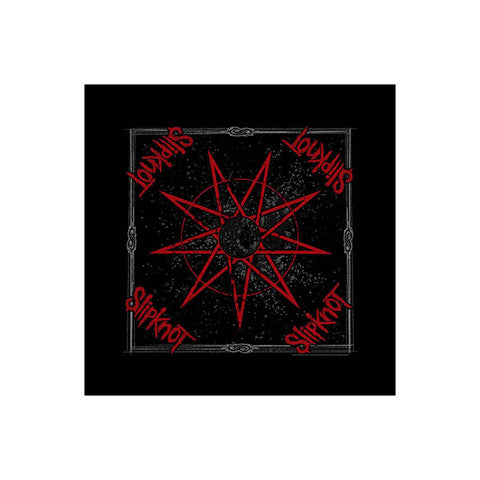 Slipknot 9 Pointed Star Bandana - GIG-MERCH.com