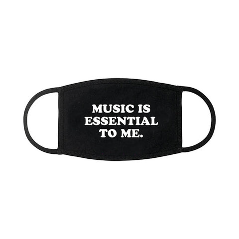 Music Is Essential Face Cover - GIG-MERCH.com
