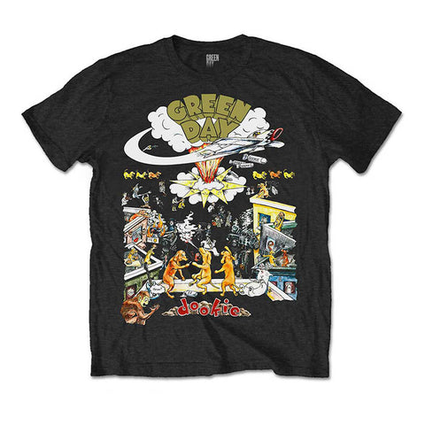 Green Day Dookie T-shirt - GIG-MERCH.com