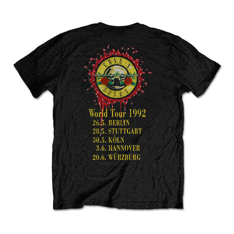Guns N' Roses Use Your Illusion 1992 Tour T-Shirt
