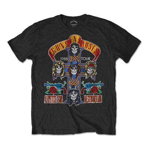 Guns N' Roses NJ Summer Jam 1988 Tour T-Shirt - GIG-MERCH.com