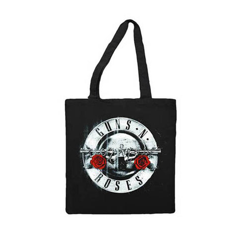 Guns N' Roses Silver Bullet Tote Bag - GIG-MERCH.com