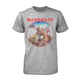 Iron Maiden Trooper Vintage Circle T-shirt - GIG-MERCH.com
