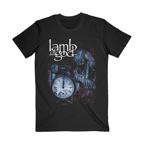 Lamb Of God Circuit Skull T-shirt - GIG-MERCH.com