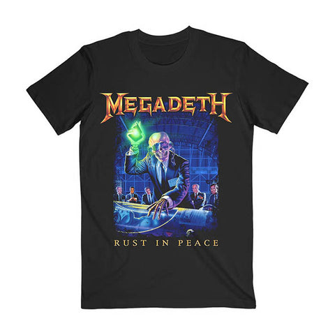 Megadeth Rust In Peace Tracks T-shirt