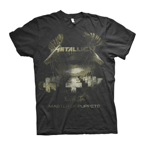 Metallica Master Of Puppets Distressed T-Shirt