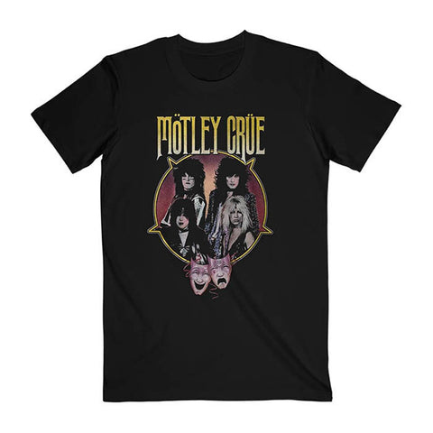 Motley Crue Theatre Pentagram T-Shirt - GIG-MERCH.com