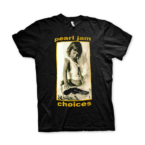 Pearl Jam Choices T-Shirt - GIG-MERCH.com
