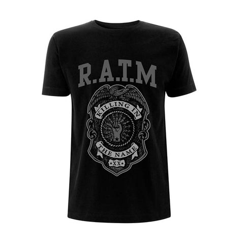 RATM Badge T-Shirt - GIG-MERCH.com