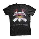 Metallica Master Of Puppets Tracks T-Shirt - GIG-MERCH.com