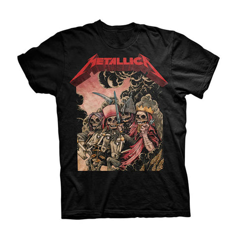 Metallica The Four Hosemen T-Shirt - GIG-MERCH.com
