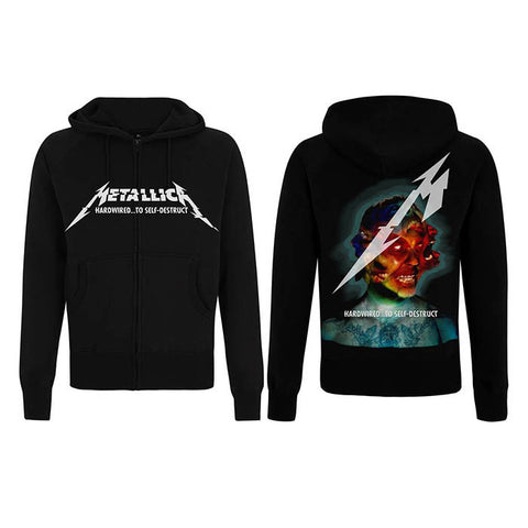 Metallica Hardwired Album Cover Hoodie