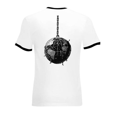 RATM Wrecking Ball Ringer T-Shirt - GIG-MERCH.com