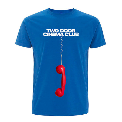 Two Door Cinema Club Phone T-shirt - GIG-MERCH.com