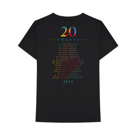 Westlife Twenty Tour 2019 Asia Tour T-Shirt - GIG-MERCH.com