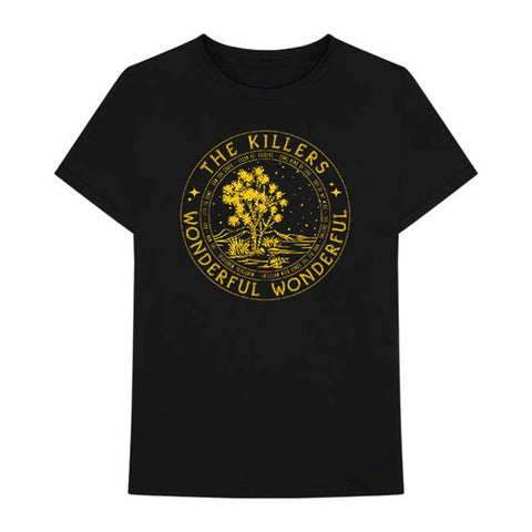The Killers Wonder Circle 2018 Tour Tee - GIG-MERCH.com