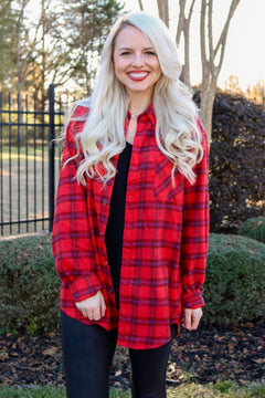 Plaid About You Flannel, Fire