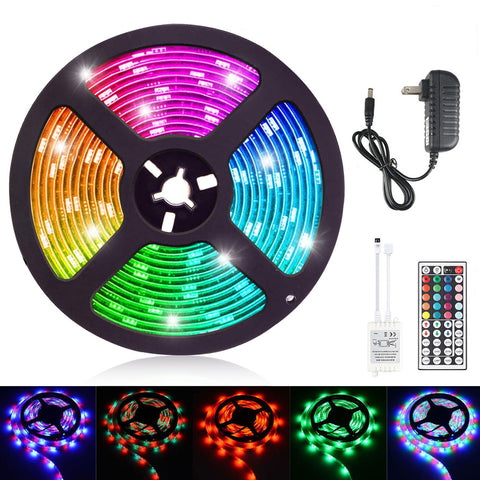 LED Color Changing Strips with Remote RGB5050
