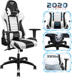 Furgle Racing Gaming Chair Leather Recliner