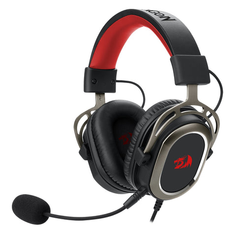 Redragon H710 Helios USB Wired Gaming Headset - 7.1 Surround Sound