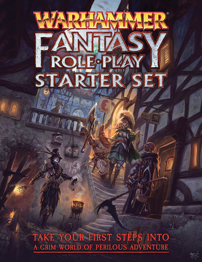 Warhammer Fantasy RPG Starter Set 4th Ed.