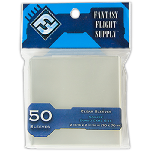 Square Board Game Sleeves (50) (Blue)