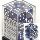 Gemini Blue Silver 16mm D6 Set