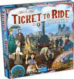 France and the Old West Map Set (Ticket to Ride)