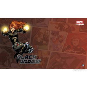 Black Widow Play Mat