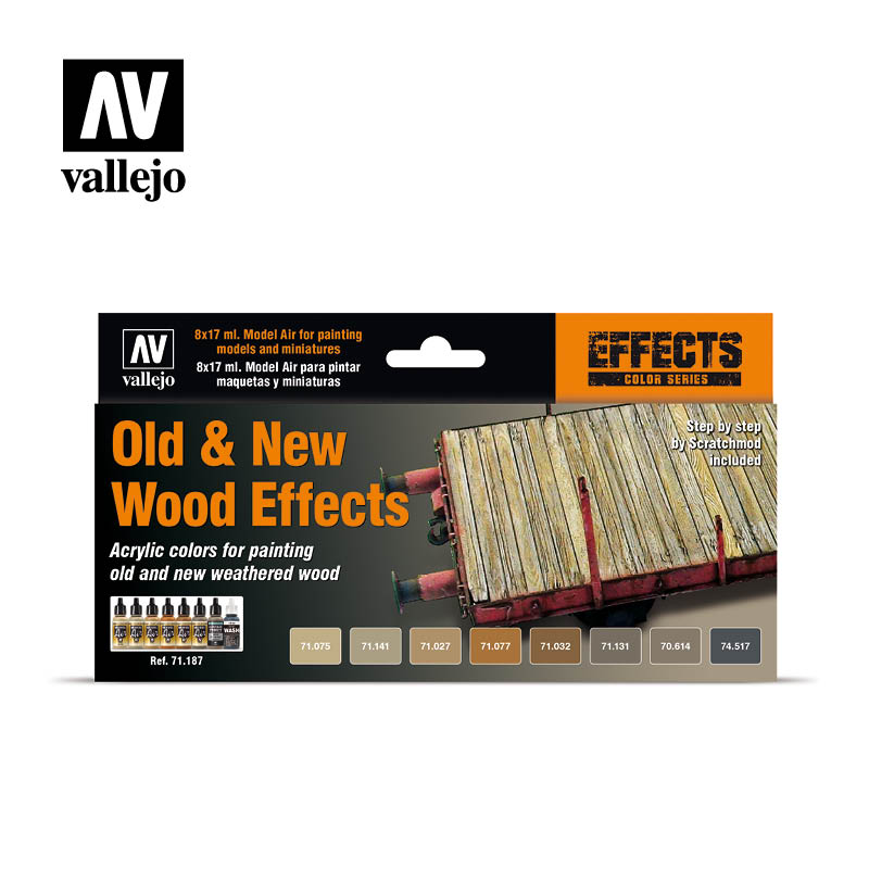 Model Air Set: Old & New Wood Effects