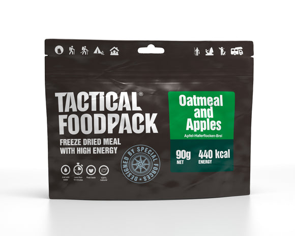 Tactical Foodpack - Havregrynsgröt med äpple