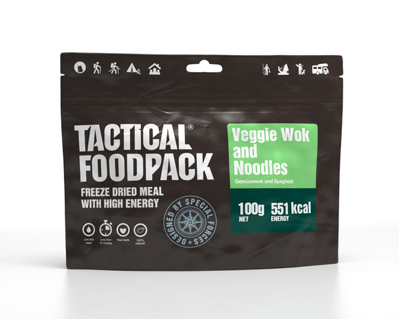 Tactical Foodpack - Vegetarisk wok med nudlar