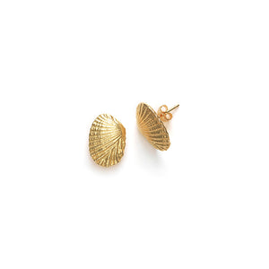 Anni Lu Shell Gold Earring